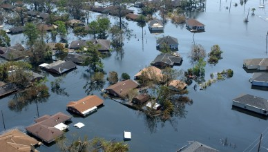 New Orleans, LA-September 2, 2005- Neighborhoods throughout the area remain flooded as a result of Hurricane Katrina.  Jocelyn Augustino/FEMA